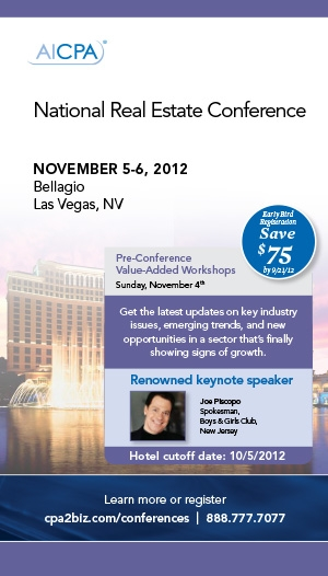 National Real Estate Conference 2012 Live