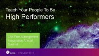 Teach Your People to be High Performers