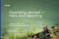 Operating Abroad - Risks and Reporting