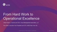 From Hard Work to Operational Excellence
