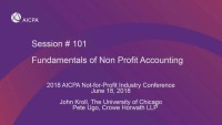 Fundamentals of Not-for-Profit Accounting