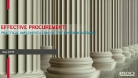 Practical Implementation of Procurement