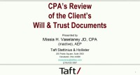 Document Review for CPAs