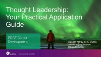 Thought Leadership: Your Practical Application Guide