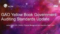 GAO Yellow Book Government Auditing Standards Update