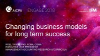 Change Your Business Model to Realize Your Organization's Long-term Success