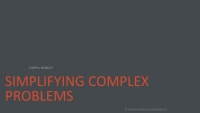 Human Intelligence: Simplifying Complex Problems