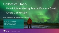 Collective Hoop: How High-Achieving Teams Process Small Goals Collectively to Achieve Maximum Results