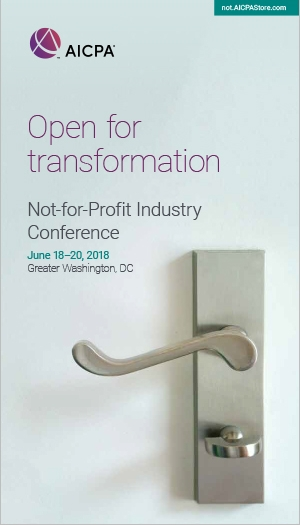 Not-for-Profit Industry Conference 2018