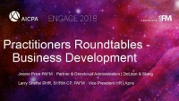 Practitioners Roundtables (3): Business Development