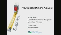 How to Benchmark Ag Data
