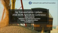 Ag Transportation Update