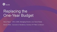 Replacing the One-Year Budget