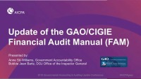 Update of the GAO/CIGIE Financial Audit Manual (FAM)
