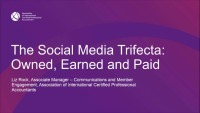 The Social Trifecta: Owned, Earned and Paid