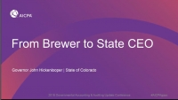 From Brewer to State CEO