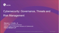 Morning Announcements & Introduction & Cybersecurity: Governance, Threats and Risk Management