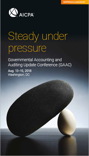 Governmental Accounting and Auditing Update Conference 2018