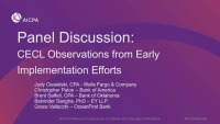 CECL Observations from Current Implementation Efforts