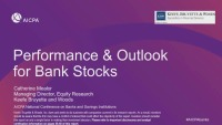 Performance & Outlook for Banks Nationwide / M&A