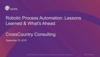 Robotic Process Automation: Lessons Learned & What's Ahead