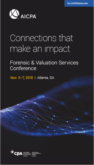 Forensic & Valuation Services Conference 2018