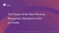 Revenue Recognition Impact to NFPs