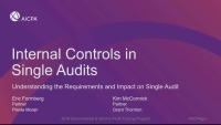 Internal Controls Over Compliance - Theory
