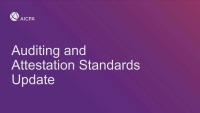Auditing & Attestation Update