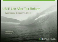UBIT: Life After Tax Reform