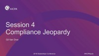 Compliance Jeopardy