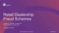 Fraud In Dealerships - Real Stories