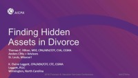"Techniques for Discovering ""Hidden Assets"" in the Marital Estate"
