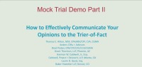 Mock Trial Demo Part II