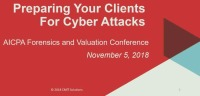 Preparing Your Clients for Cyber Attacks