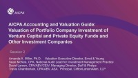 AICPA Accounting and Valuation Guide on PE/VC Part 2