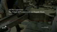 The Future of Procurement and Supply Chain