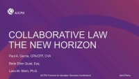 Part 1: Collaborative Law the New Horizon