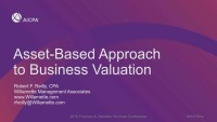 The Asset-Based Approach to Business Valuation