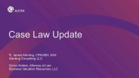 Case Law Update on Crucial Recent Valuation and Damages Rulings