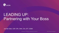 Leading Up: Partnering With Your Boss
