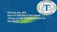 The Power of NO! How to Get Rid of the Good Things in Life to Make Room for Great