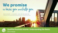 Qualified Business Income: Understanding the Basics