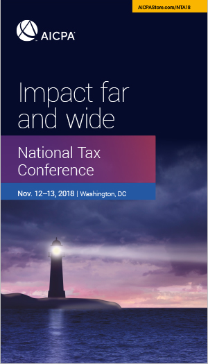 National Tax Conference 2018
