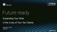 Expanding Your Role in the Lives of Your Tax Clients