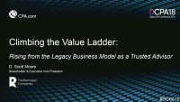 Climbing the Value Ladder: Converting from Legacy Business Model