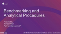 Benchmarking and Analytical Procedures