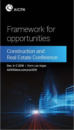 Construction and Real Estate Conference 2018