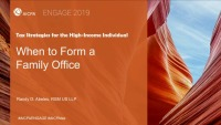 When to Form a Family Office