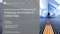 Protecting the Privacy of Critical Data (NAA, FIN)